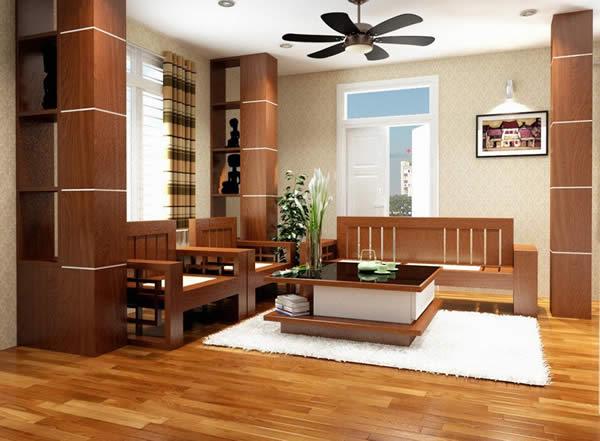 Nội thất phòng khách nhà